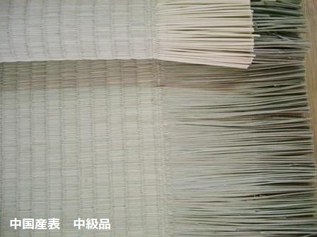 中国産表 中