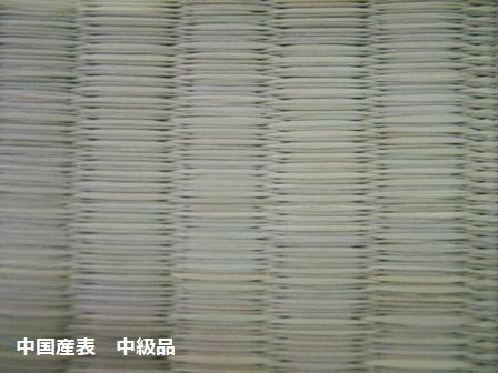 中国産表 中級品B