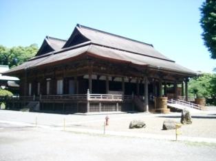 法華経寺の祖師堂
