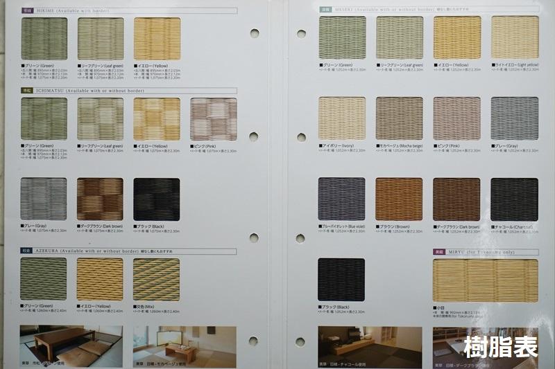 樹脂表カタログA