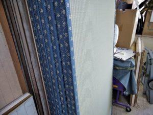 新しい避難所用畳