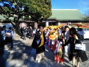 法華経寺のお会式B