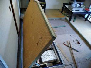 床下収納庫
