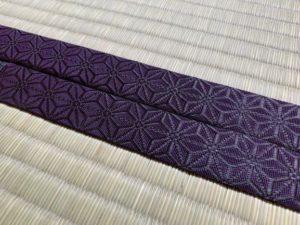 麻の葉・本紫B