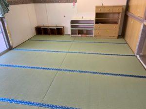 保育園の畳