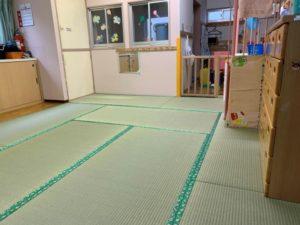 保育園の畳3