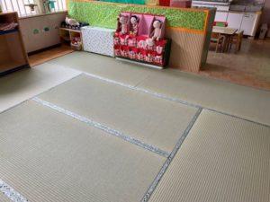 保育園の畳5