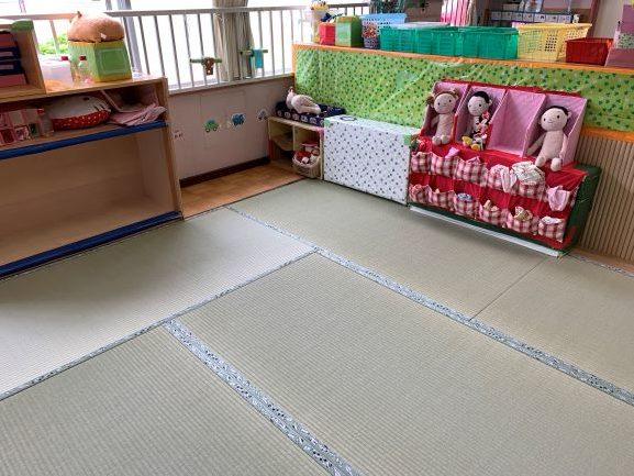 保育園の畳6