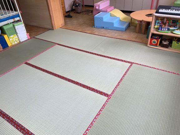 保育園の畳8