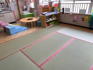 保育園の畳10