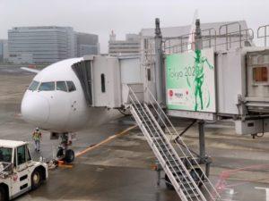 熊本行きの飛行機A