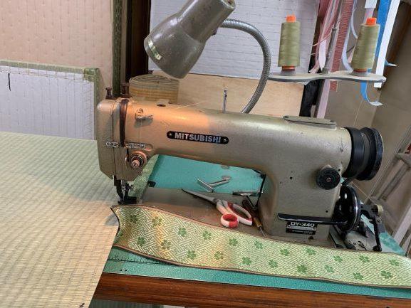 ゴザ縫いミシン