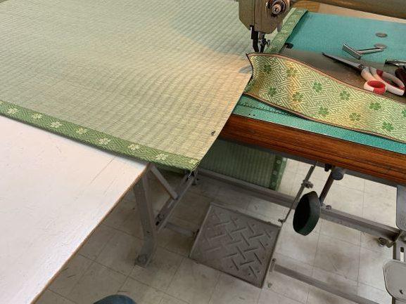 ゴザ縫いミシンA