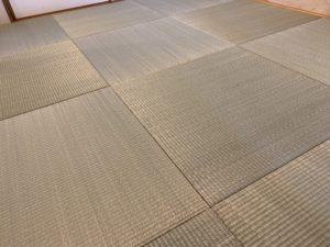 琉球畳のアップ