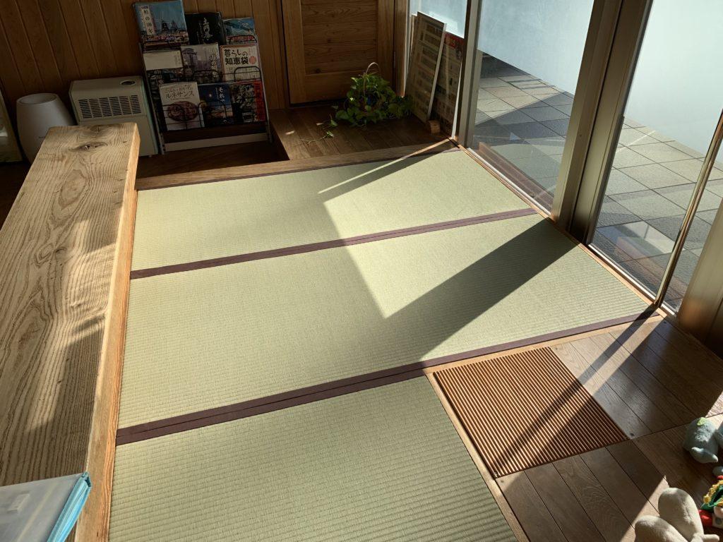 無農薬畳の畳スペース