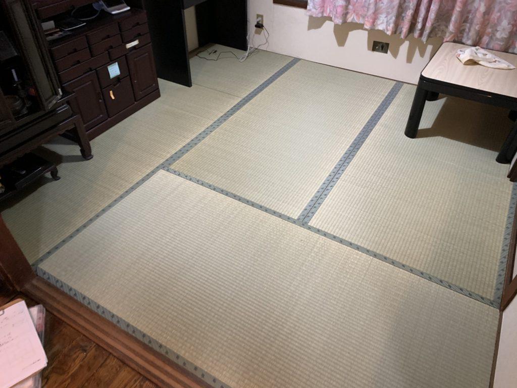 床交換の部屋