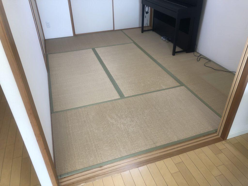 既存の古い畳