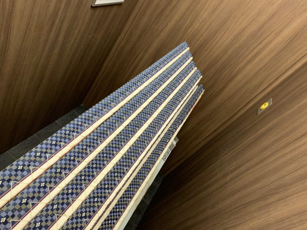 広いエレベーター内